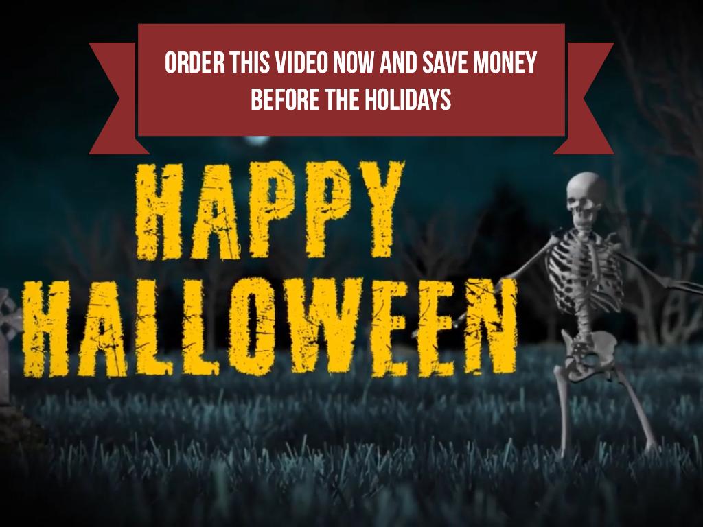 Halloween Bones Dance
